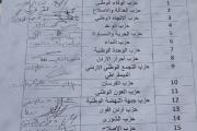 الاحزاب الاردنية تقترح قانون الانتخاب